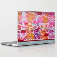 aloha Laptop & iPad Skins featuring Aloha by E.Seefried Art