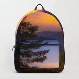 Chalk Bluff Sunset Backpack
