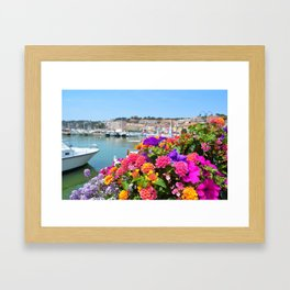 Cassis, France Framed Art Print