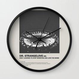 Dr. Strangelove Minimal Movie Poster No 01 Wall Clock