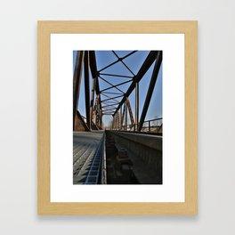 Bridge 3 Framed Art Print