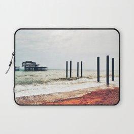West Pier in Early April Laptop Sleeve