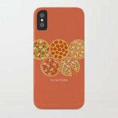 Olympizza iPhone X Slim Case