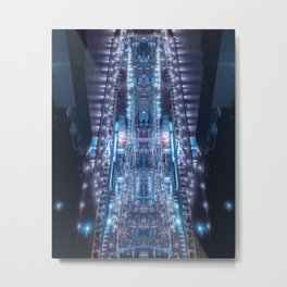One last glance before sealing the gateway to the parallel worlds Metal Print