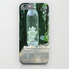 Queen Anne's Lace/Jar w/ bokeh Slim Case iPhone 6s