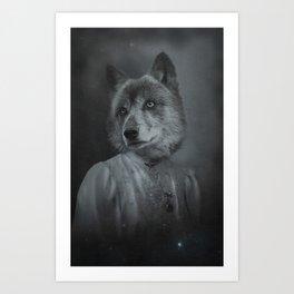 coeur de louve Art Print