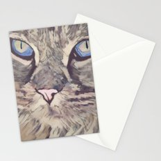 Blue Eyed Cat Stationery Cards