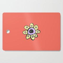 childish flower 2 Cutting Board