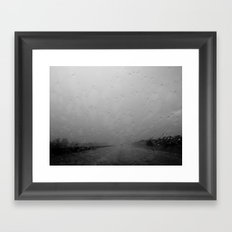 Brooding Framed Art Print