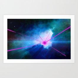 Birth Of A New Star Art Print