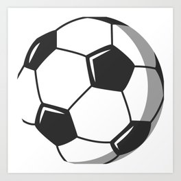 Soccer Ball Art Prints Society6