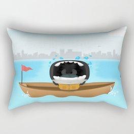 Abo in the ocean Rectangular Pillow