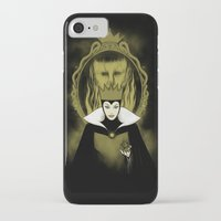 evil queen iPhone & iPod Cases featuring Evil Queen by pigboom el crapo