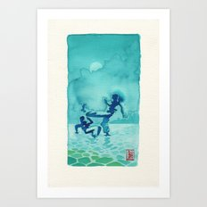 Capoeira 334 Art Print