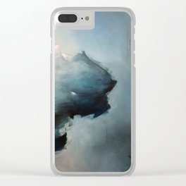 Softest Stuff in The World Clear iPhone Case