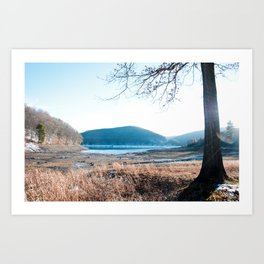Morrison Trail, Allegheny Reservoir, PA Art Print