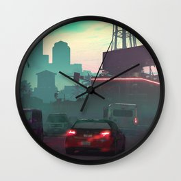 Vice City Wall Clock