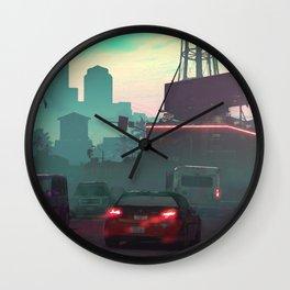 Vice City Wall Clock