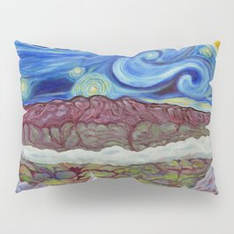 Sunny Starry Night Pillow Sham