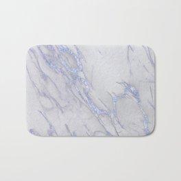 Marble Love Sapphire Metallic Bath Mat