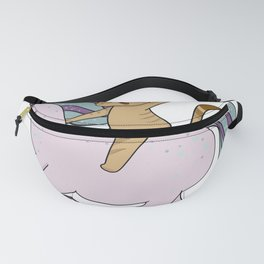 Pink Unicorn Fanny Pack