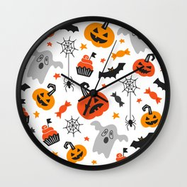 Cute Halloween Wall Clock