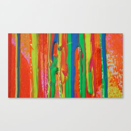 The Manipulation Of Paint #5 Canvas Print