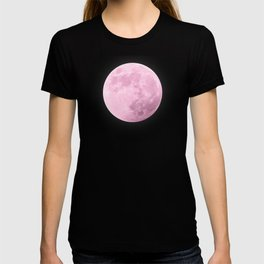 COTTON CANDY PINK MOON T-shirt