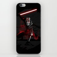 sith iPhone & iPod Skins featuring Sith Lord by Hunor L. Kovacs