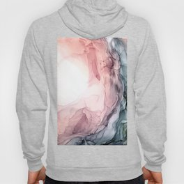 Blush and Blue Dream 1: Original painting Hoody