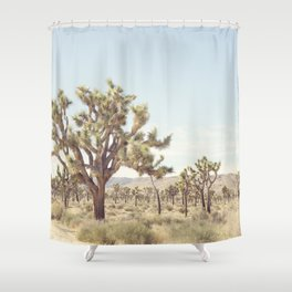 Pale Desert Shower Curtain