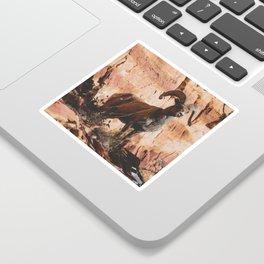 Zion Bighorn Sheep Sticker