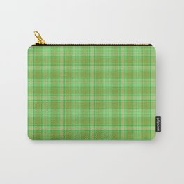 St. Patrick's Day Plaid Carry-All Pouch