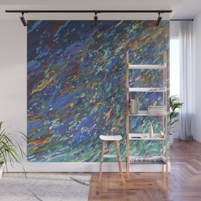 Surfacing Up In A Wave Juul Art Wall Mural