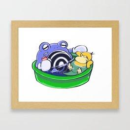 Poke Pool Summer Time Framed Art Print
