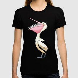 Loving Heart Pelican T-shirt