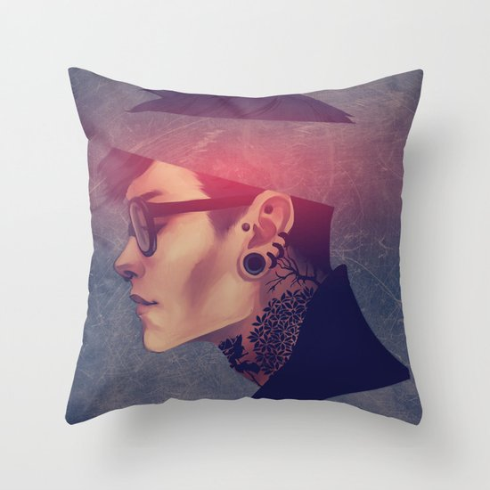namemarcus Throw Pillow
