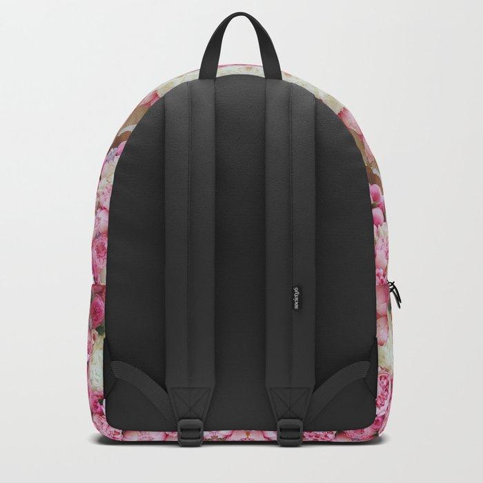 Pink Floral Mandala Backpack