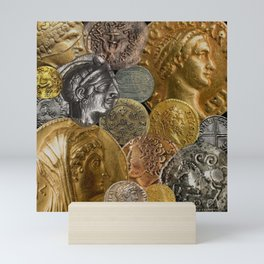 Ancient Coins 2 Mini Art Print