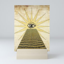 ancient eye Mini Art Print