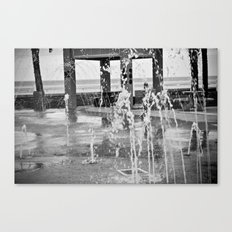 Fountains Canvas Print