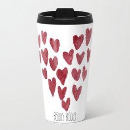 Bisous Bisous... Travel Mug