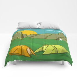 Yosemite Valley Comforters