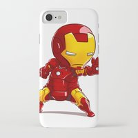 ironman iPhone & iPod Cases featuring IRONMAN by MauroPeroni