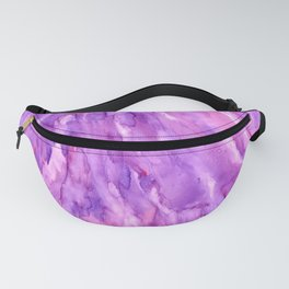 Magenta Marble Fanny Pack