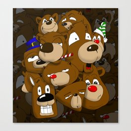 The Bears Canvas Print