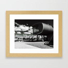 Theater im Hafen Framed Art Print