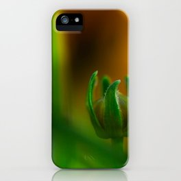 Waiting to Bloom iPhone Case