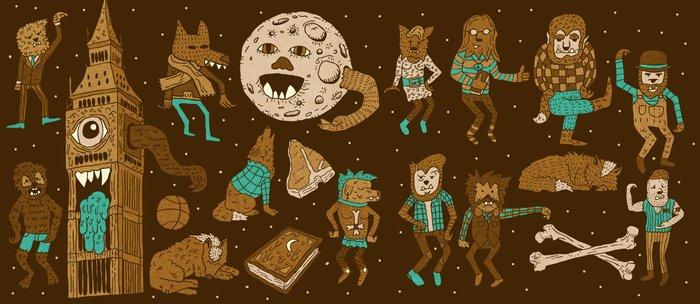 Wow! Werewolves!  Coffee Mug