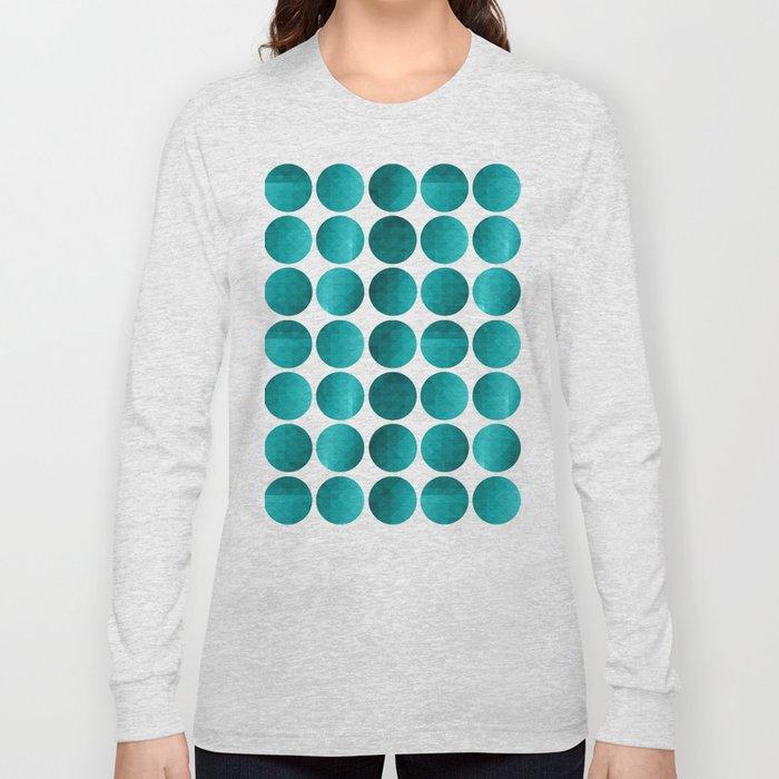 Emerald circles Long Sleeve T-shirt